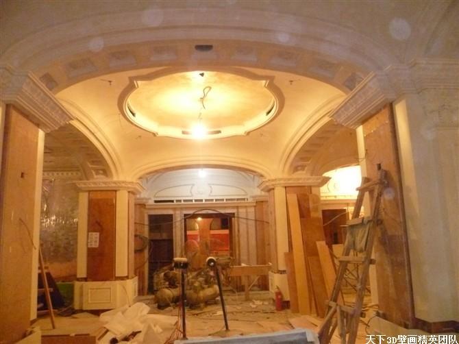大型酒店壁畫,手繪壁畫,歐式壁畫,天頂壁畫,穹頂壁畫,古典壁畫等等