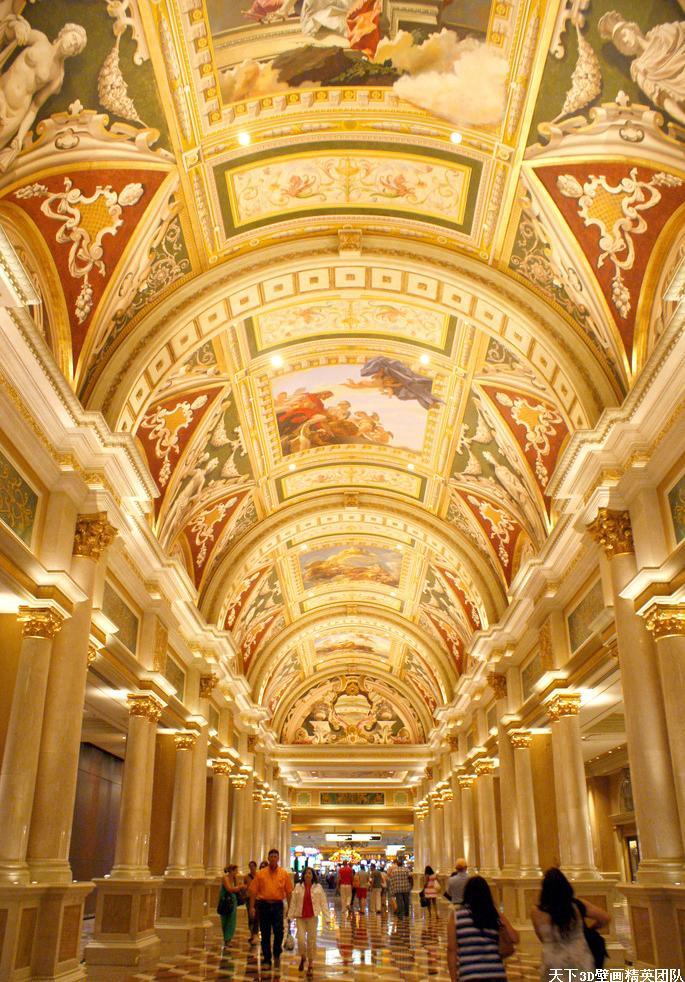大型酒店壁畫,大型手繪壁畫,歐式壁畫,天頂壁畫,穹頂壁畫,古典壁畫,大型彩繪壁畫藝術工程等等,