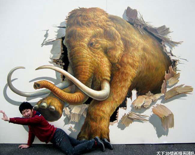 深圳壁畫,3D壁畫,3D地畫,3D街頭立體畫,3D立體畫,手繪壁畫