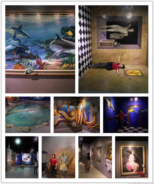 深圳3D壁畫、3D地畫、3D街頭地畫